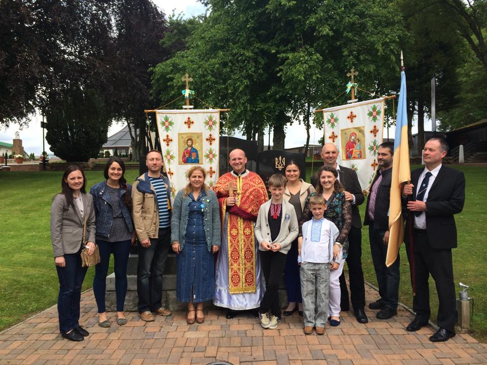 Ukrainians in Glasgow 2