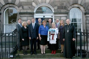 Fiona Hyslop (Cabinet Secetary for Culture) Visit